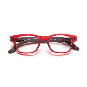 Óculos de Leitura Super Bold B+D Vermelho