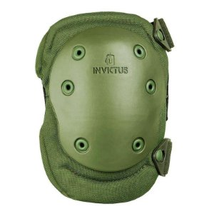 Joelheira Tática Protec Verde Invictus