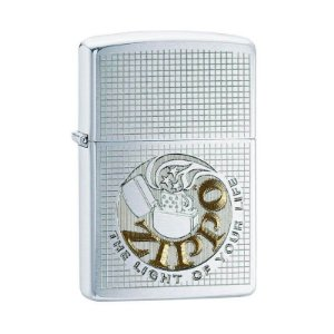 "Isqueiro Zippo 29236 Classic ""Light of Your Life"" Escovado"
