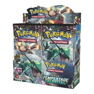 Pokémon TCG: Booster Box (36 unidades) SM7 Tempestade Celestial