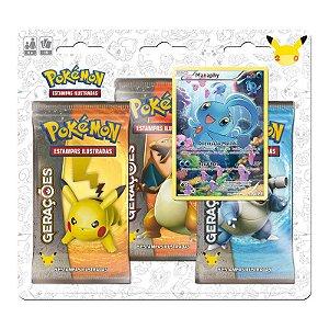 Pokémon TCG: Triple Pack Gerações - Manaphy