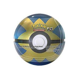 Pokémon TCG: Lata Colecionável Poké Bola (Quick Ball/Bola Rápida)