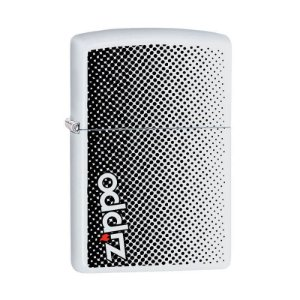 Isqueiro Zippo 29689 Classic Logo Dots Branco