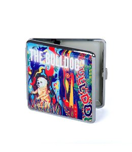 Cigarreira Case Art The Bulldog Amsterdam em Metal GH00112