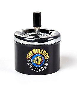 Cinzeiro em Metal Retro Black The Bulldog - GS00064