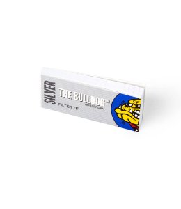 Filtro Slim Tips Silver The Bulldog - SM00102