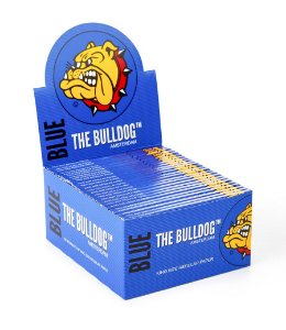 Caixa 50 Papel Seda Blue King Size The Bulldog   -SM00008