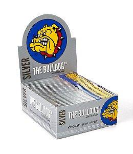 Caixa 50 Papel Seda Silver King Size The Bulldog - SM00052