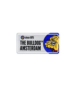 Placa em Metal Prata The Bulldog - GH00132