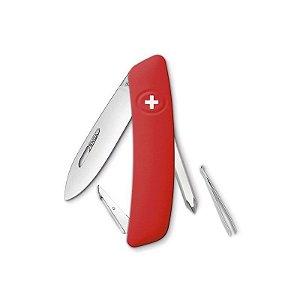 Canivete Suíço D02 Vermelho Swiza com Bag Premium