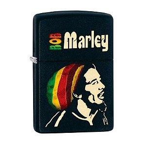 Isqueiro Zippo 28426 Classic Preto Bob Marley