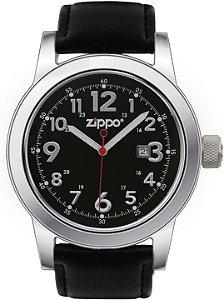 Relógio Casual Sport Zippo 45003 Black