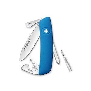 Canivete Suíço D04 Azul Swiza com Bag Premium