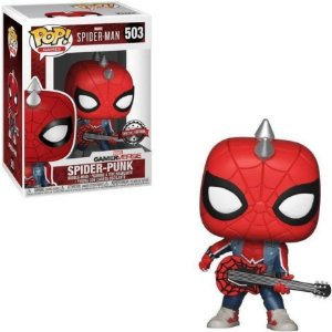 Spider Punk 503 - Marvel Homem Aranha - Funko Pop Exclusivo
