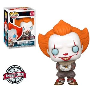 Pennywise With Glow Bug 877 - IT Chapter Two - Funko Pop