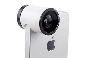 Lente Olho de Peixe para iPhone 5