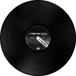 Vinil Traktor Scratch Timecode MK2 Vinyl - Black