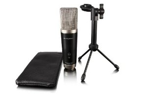 VOCAL STUDIO MICROFONE CONDENSADOR COM INTERFACE