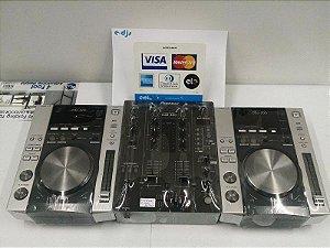 Kit Pioneer CDJ 200 + DJM 400