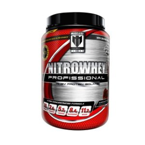 NITROWHEY CHOCOLATE SUPREME - WHEY PROTEIN ISOLATE PREMIUM.