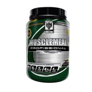 MUSCLEMEAL MORANGO - WHEY PROTEIN AND OAT 900g