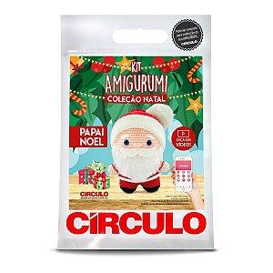 Kit Amigurumi Coleção Natal Circulo Papai Noel