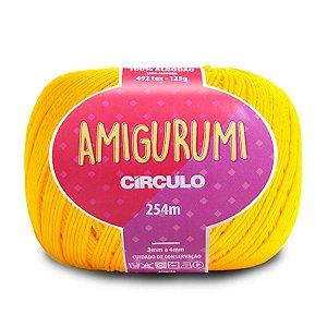 Linha Amigurumi Circulo 254m Cor 1289 Canário