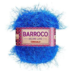 Barbante Barroco Decore Luxo Circulo 280g Cor Azul 203