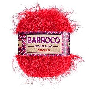 Barbante Barroco Decore Luxo Circulo 280g Cor Vermelho 333