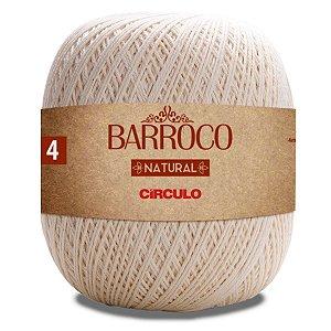 Barbante Barroco Natural Circulo 700g Número 4