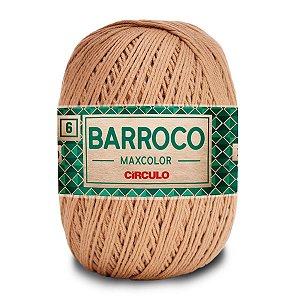 Barbante Barroco Maxcolor 400g Circulo N6 Cor Castanha 7625
