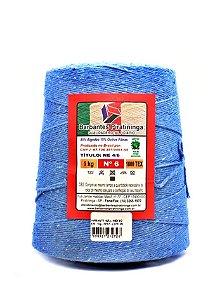 Barbante 1Kg Número 6 Azul Indigo