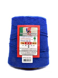Barbante 1Kg Número 6 Azul Royal
