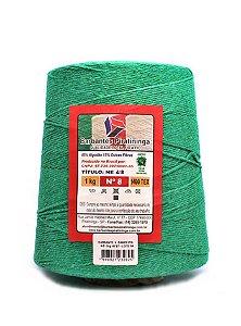 Barbante 1Kg Número 8 Verde Bandeira