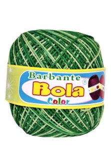 Barbante 350m Bola Color Bandeira/Abacate