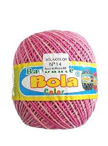 Barbante 350m Bola Color Rosa Médio/Rosa Bebê