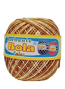 Barbante 350m Bola Color Mostarda/Amarelo Bebê