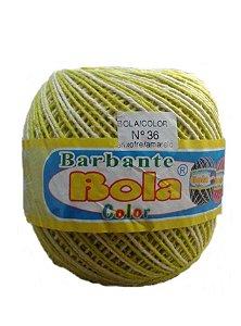 Barbante 350m Bola Color Enxofre/Amarelo