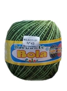 Barbante 350m Bola Color Abacate/Militar