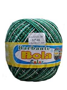 Barbante 350m Bola Color Verde Bandeira/Verde Jade