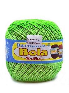 Barbante 350m Bola Color Brilho Abacate/Prata