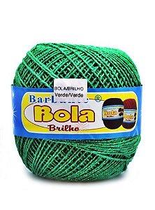Barbante 350m Bola Color Brilho Verde/Verde