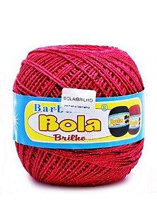 Barbante 350m Bola Color Brilho Vermelho/Vermelho