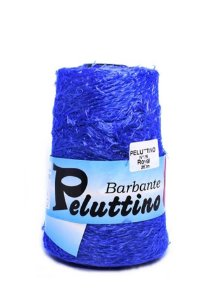 Barbante Felpudo Peluttino Numero 6 Azul Royal