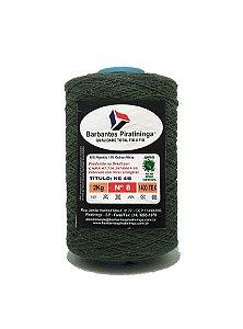 Barbante 2Kg Número 8 Verde Musgo