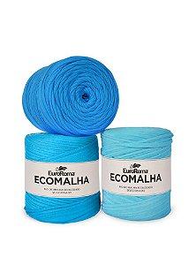 Fio de Malha EcoMalha 140m Tons de Azul Claro