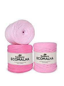 Fio de Malha EcoMalha 140m Tons de Rosa