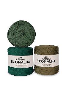 Fio de Malha EcoMalha 140m Tons de Verde Forte