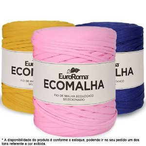 Fio de Malha EcoMalha 80m Cores Mistas