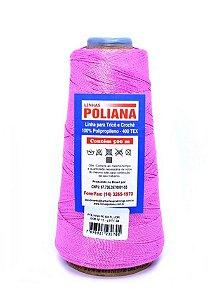 Linha Poliana 500m - Rosa Fluorescente